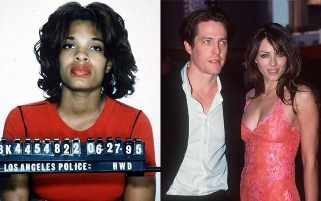 Hugh Grant traiu Liz Hurley com uma prostituta, em 1995