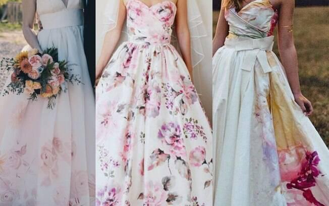 Os vestidos de noiva com