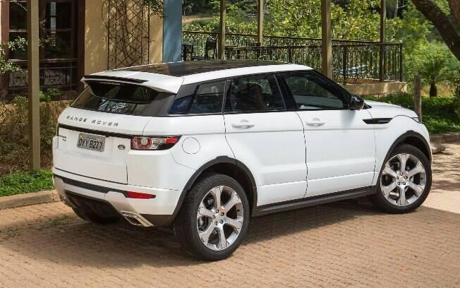 Range Rover Evoque com motor flex também é feito pela Land Rover no Brasil, mas apenas até a chegar a nova geração