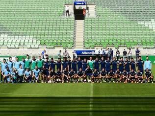 Equipe faz 1º treino no Allianz Parque