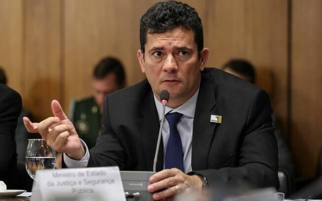 Sérgio Moro disse que o inquérito está em andamento e não ainda foi concluído