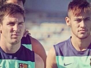 Argentino afirmou não saber de onde tiraram que ele e Neymar não se dão bem