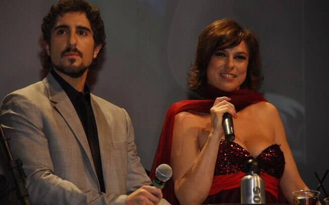 Maria Paula apresentou o Prêmio Jovem, ao lado de Marcos Mion