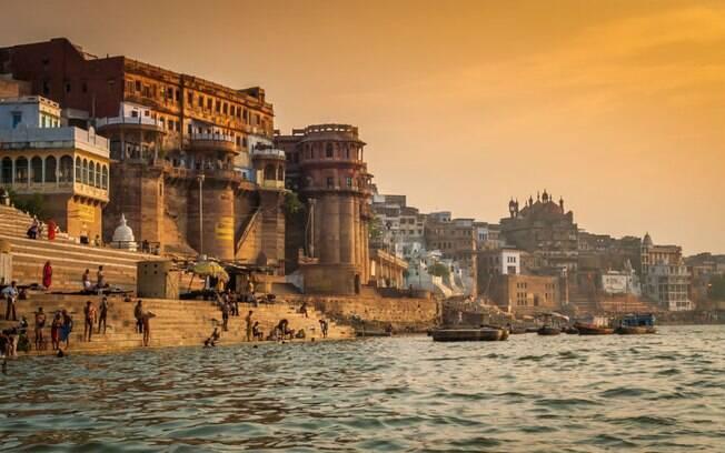 A cidade de Varanasi, na Índia, é a mais sagrada para o hinduísmo