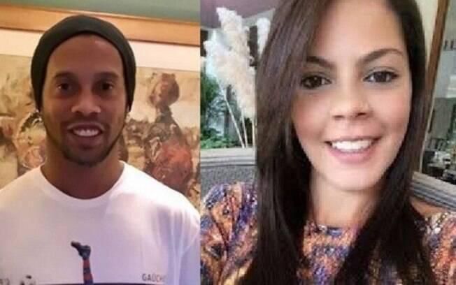 Ronaldinho Gaúcho e Beatriz Souza