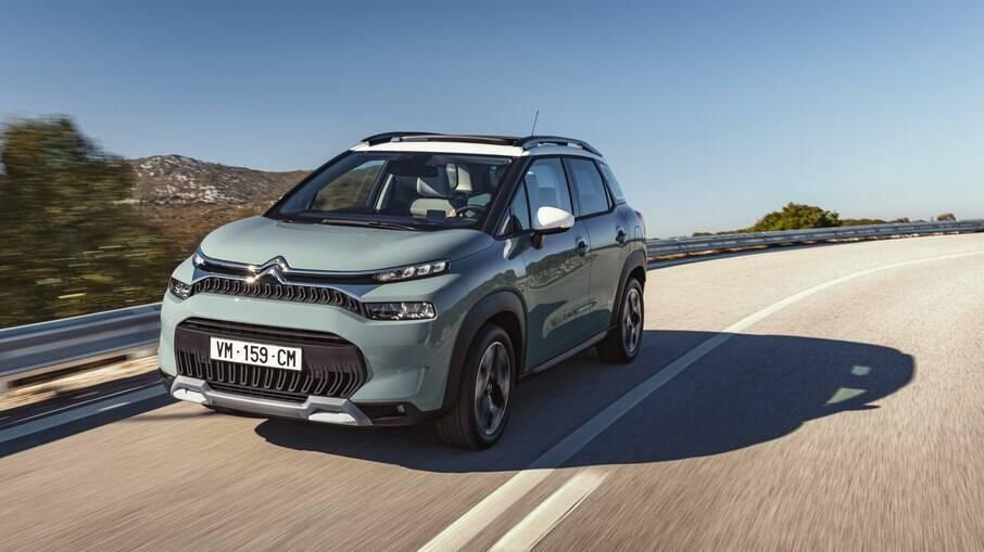 Citroën C3 Aircross: versão renovada do modelo europeu ganha nova frente, que será parecida com a do SUV feito no Brasil
