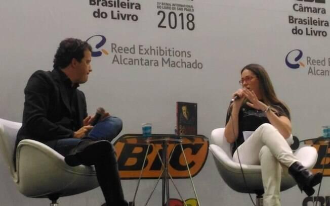 Elisa Dinis na Bienal do Livro em 2018