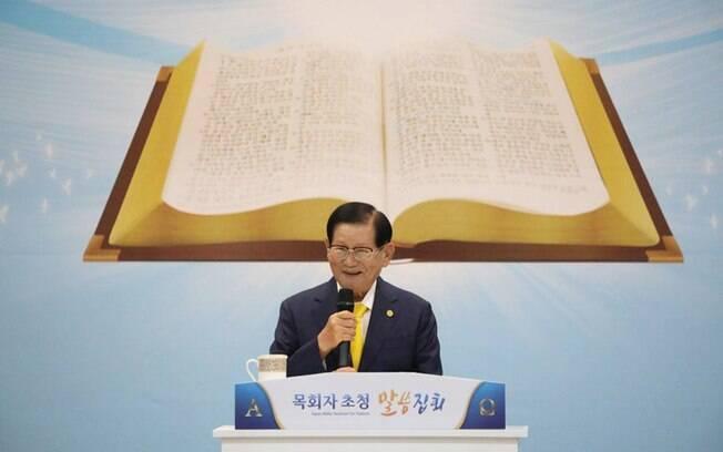 Lee Man-hee é líder da Igreja Shincheonji de Jesus no país