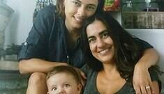 """Atriz e esposa sobre criar uma filha: """"Pessoas ficam chocadas"""""""
