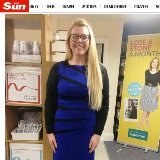 O programa de emagrecimento que Clare entrou a fez perder mais de 40kg