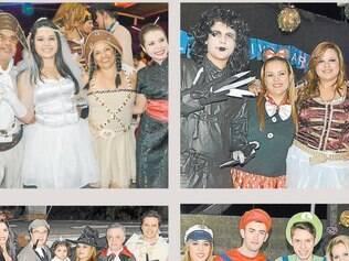 Os jovens Ademir Contageante, Bruno Contageante e Jéssica Ramos comemoraram, pelo 3º ano seguido, mais um ano de vida com uma bela e já tradicional festa à fantasia.