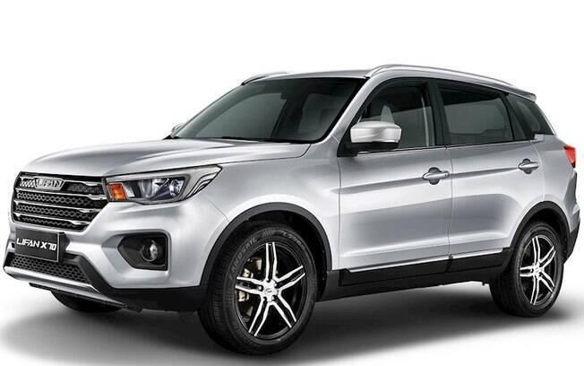 Lifan X70 chegará no Salão do Automóvel 2018 para brigar entre os SUVs médios, entre os quais se destaca o Jeep Compass