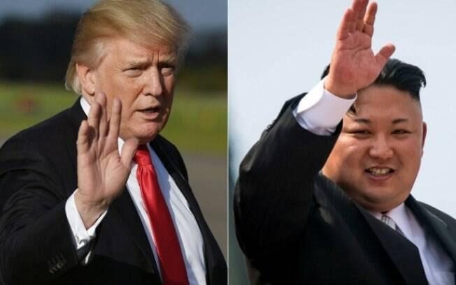 Donald Trump e Kim Jong-un devem se encontrar pessoalmente em maio, nos EUA