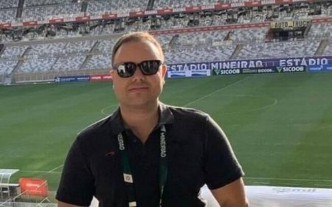 O jornalista Bruno Azevedo, âncora de programa esportivo em Minas Gerais, desapareceu após deixar carta misteriosa