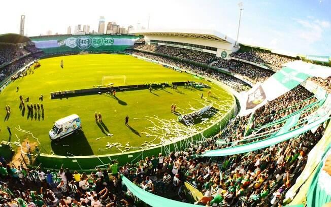 Torcida do Coritiba deu show para comemorar mais um título estadual