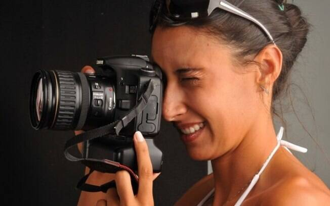 Sheilla também gosta de atacar de fotógrafa