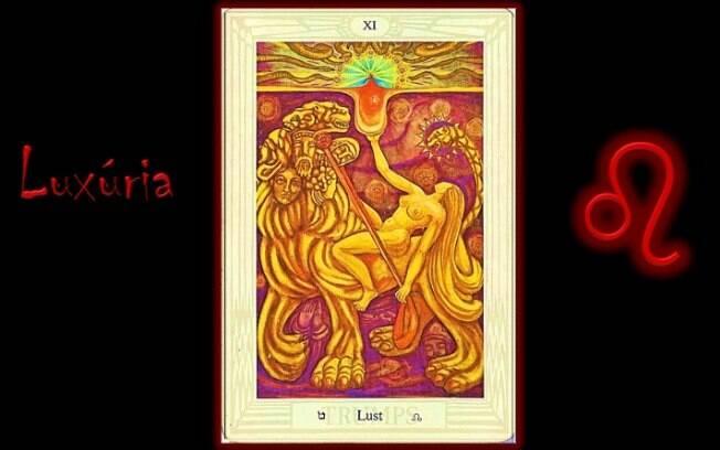 Previsão da semana do tarô de Thoth indica o arcano da Luxúria