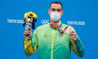 Fernando Scheffer treinou em açude com piscina minúscula