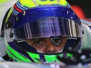 Para Massa, o calor intenso tem grande efeito sobre os pneus e sobre a velocidade dos desgaste