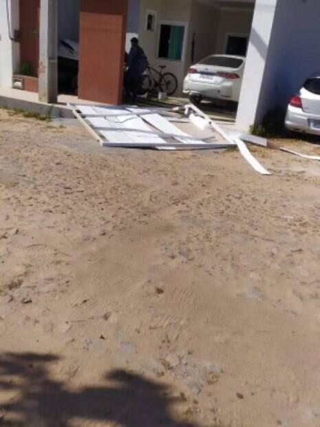 Frame do vídeo do caso