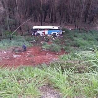 Acidente grave deixou ao menos 5 pessoas mortas na madrugada desta quinta-feira