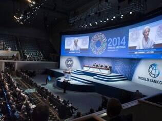 Encontro do FMI teve início na última sexta-feira (10)