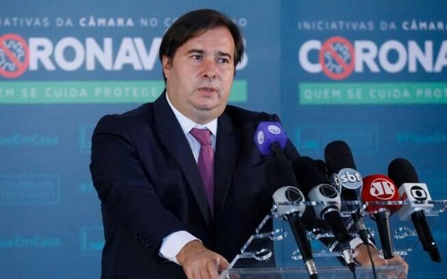 Presidente da Câmara criticou o agora ex-ministro da saúde Abraham Weintraub