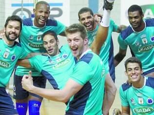 Embalado. Jogadores do Sada Cruzeiro começam a temporada com o título do Mineiro e do Torneio de Irvine, nos Estados Unidos