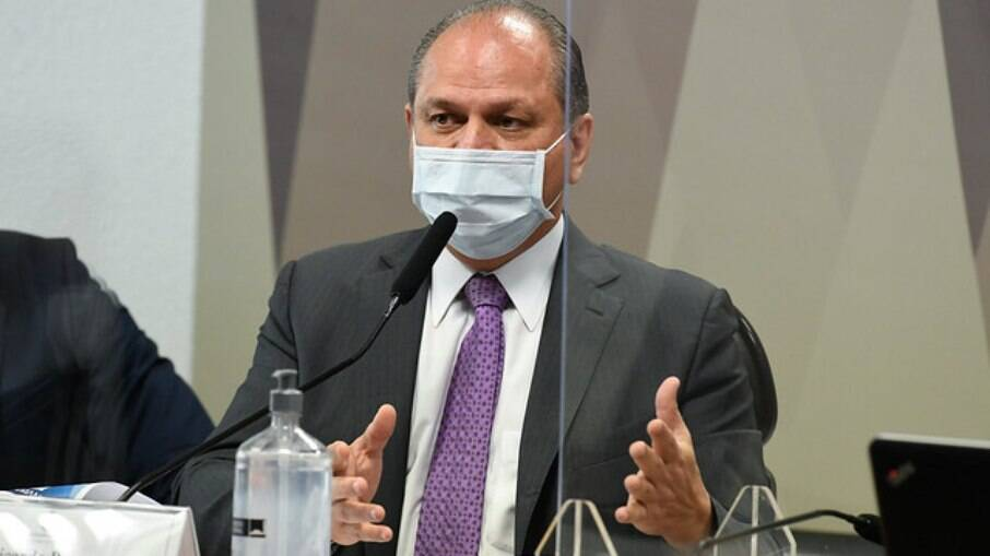 Ricardo Barros na CPI da Covid