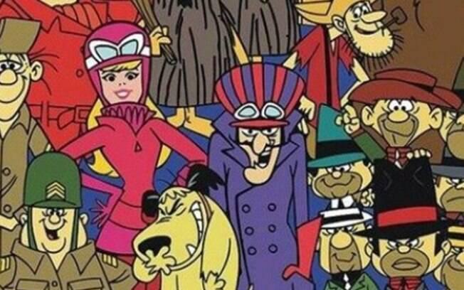 Corrida Maluca: bastante conhecida por mais de uma geração no Brasil , a animação tem personagens emblemáticos