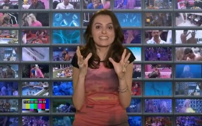 Monica Iozzi estreia como comentarista no Big Brother