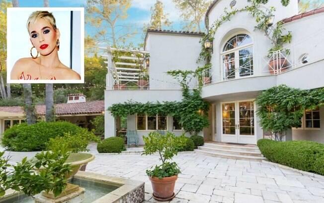 Depois de quase dois anos e meio, a cantora Katy Perry vendeu sua luxoso mansão em Los Angeles por R$ 35,6 milhões