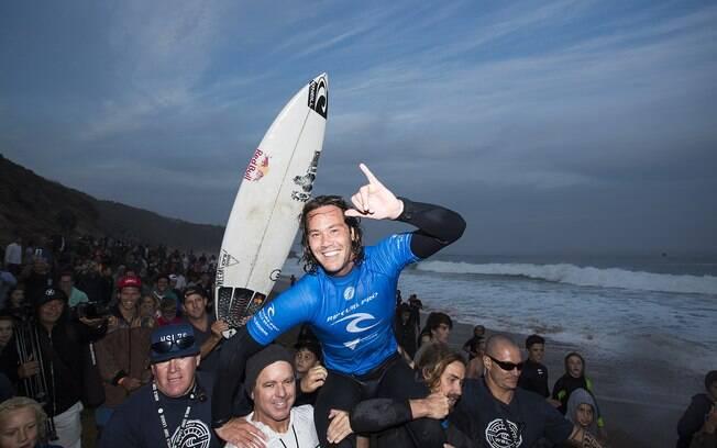Jordy Smith foi vice-campeão mundial de surfe em 2016