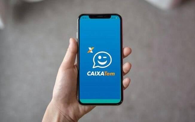 Caixa afirmou que o app é apenas para pessoas sem conta em banco