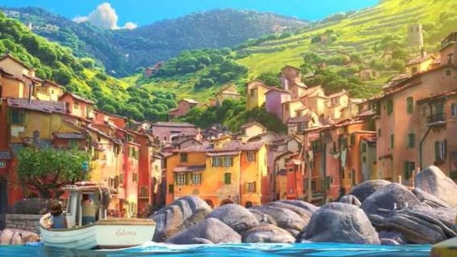 Cinque Terre feito pela Pixar