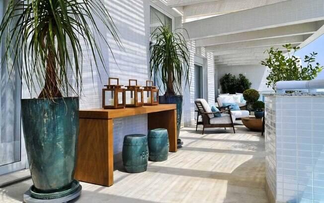 Qual a planta certa para sua sacada? Veja dicas de especialistas Jardinagem iG -> Decoração De Varanda Com Vasos De Plantas