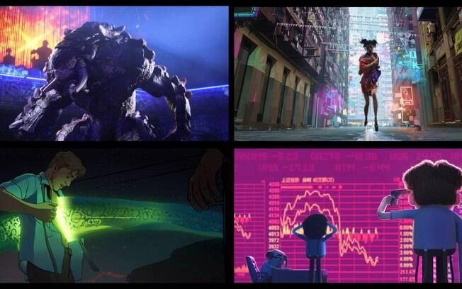 Cenas de Love, Death and Robots