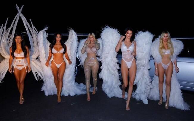 Irmãs Kardashian/Jenner abusam da sensualidade