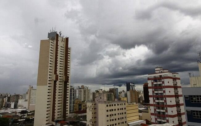 Defesa Civil alerta para tempestade severa na região de Campinas