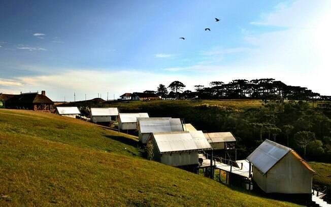 Experimente o contato com a natureza no Parador Casa da Montanha Ecovillage, em Cambará do Sul. Foto: Divulgação
