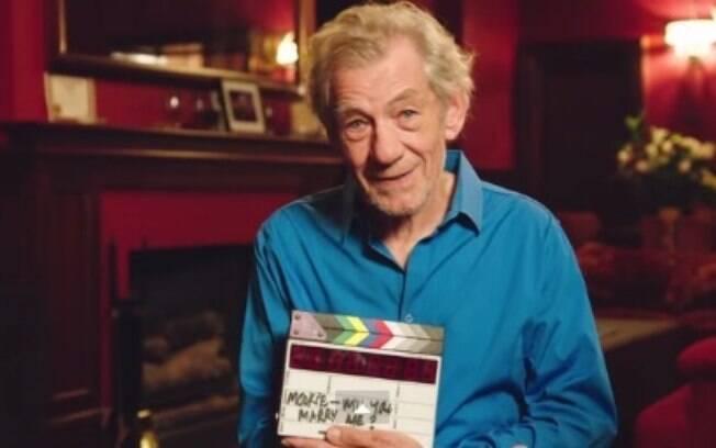 Sir Ian McKellen é um dos maiores atores ingleses, e considerado o gay mais influente do Reino Unido