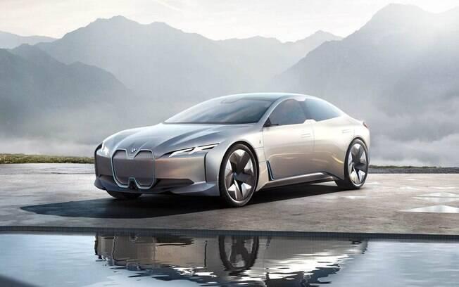 BMW i4: Elétrico do Salão de País se baseará na Série 4 Gran Coupé, com tecnologias elétricas para futuros modelos