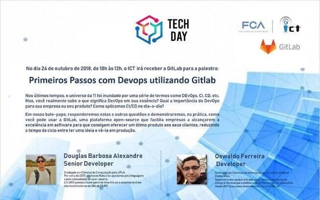 Gitlab é o convidado do Tech Day da Fiat Chrysler Automóveis (FCA)