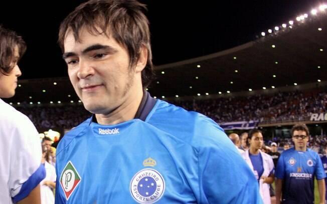 Samuel Rosa, líder do Skank, é torcedor  fanático do Cruzeiro