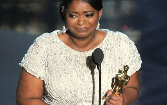 Octavia Spencer, ganhadora do Oscar de atriz coadjuvante