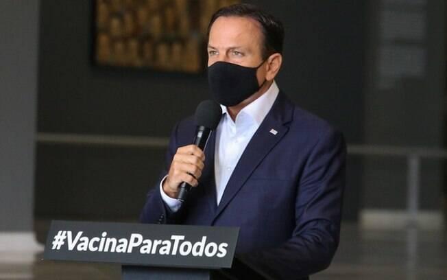 AO VIVO: Doria anuncia endurecimento da quarentena no Estado