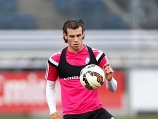 Após dois dias de treino separado, Bale fez primeira atividade com bola na semana