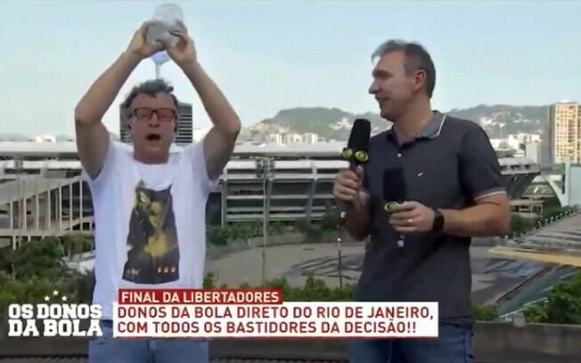 Neto não aguentou o calor do Rio de Janeiro