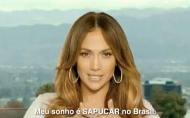 Jennifer Lopez em comercial de cervejaria