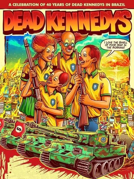 Pôster Dead Kennedys